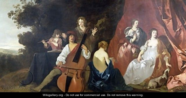 The Concert Lely and his Family - Sir Peter Lely