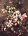 Roses - Madeleine Jeanne Lemaire