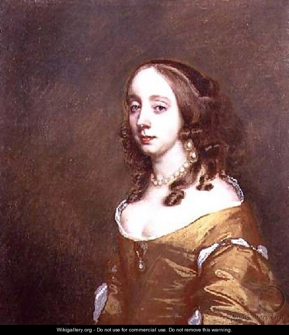 Portrait of a lady from the Popham family - Sir Peter Lely