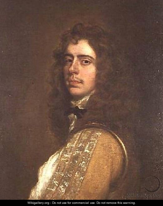 Portrait of a gentleman said to be Prince Rupert 1619-82 - Sir Peter Lely