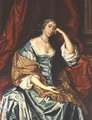 Portrait of a lady Seated - Sir Peter Lely