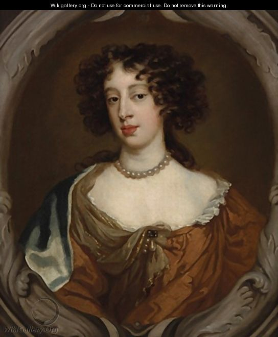 Portrait of Mary of Modena Duchess of York - Sir Peter Lely