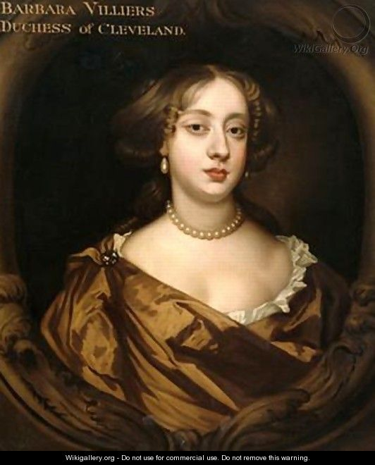 Portrait of Barbara Villiers 1641-1709 Duchess of Cleveland - Sir Peter Lely