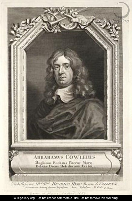 Abraham Cowley - Sir Peter Lely