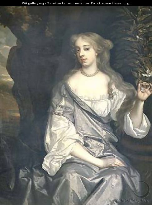 Portrait of a Lady said to be Nell Gwynne 1650-87 - Sir Peter Lely