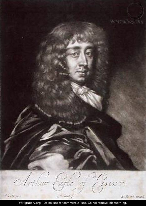 Arthur Capel 1631-83 Earl of Essex - Sir Peter Lely
