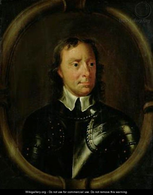 Portrait of Oliver Cromwell 1599-1658 2 - Sir Peter Lely