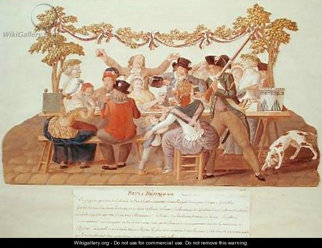 A Republican Meal Messidor - Brothers Lesueur