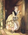 Knocking at the Door - Charles Robert Leslie