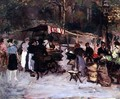 The Flower Market - Marcel Leprin