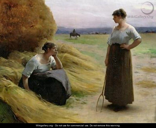 The Harvesters - Henri Lerolle