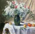 Vase of flowers - Henri Lerolle