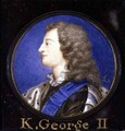 Portrait of George II 1683-1760 - Bernard III Lens