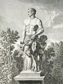 Statue of a Satyr at Versailles - Jean Lepautre