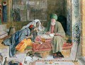 The Arab Scribe Cairo 2 - John Frederick Lewis