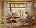 Reading by the Window Hastings - Charles James Lewis