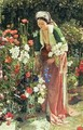 In the Beys Garden - John Frederick Lewis