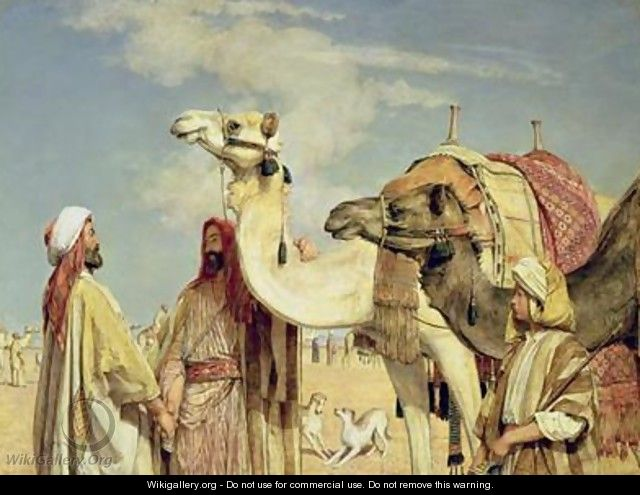 Greetings in the Desert Egypt - John Frederick Lewis