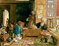 Interior of a School Cairo 6 - John Frederick Lewis