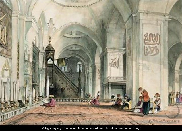 Great Mosque at Brussa - John Frederick Lewis