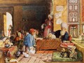 Interior of a School Cairo 5 - John Frederick Lewis