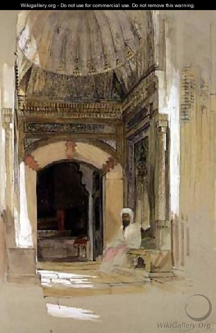 Tomb of Bayazid I Bursa Turkey - John Frederick Lewis