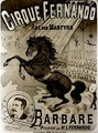 Poster for the Cirque Fernando - Charles Levy