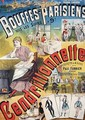 Poster advertising the Operetta Cendrillonnette at the Theatre des Bouffes Parisiens - Charles Levy