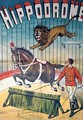 Poster advertising the Hippodrome circus - Charles Levy