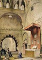Cordoba Monk praying at a Christian altar in the Mosque - John Frederick Lewis