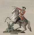 Equestrian portrait of Prince Charles-Just de Beauveau-Craon - Pierre Antoine Lesueur