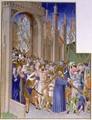 Christ Carrying the Cross on his way to Calvary - Pol de Limbourg