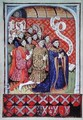 Ralph Neville 1364-1425 first Earl of Westmorland and his twelve children - Pol de Limbourg