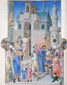 Christ Being Led from the Pretorium - Pol de Limbourg
