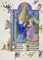 The Visitation from Tres Riches Heures du Duc de Berry - Pol de Limbourg