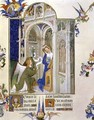 The Annunciation from Tres Riches Heures du Duc de Berry - Pol de Limbourg