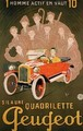 Advertisement for the Peugeot Quadrilette - Michel, called Mich Liebeaux