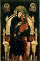 Madonna and Child Enthroned with Donors - Pietro di Giovanni Lianori