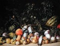 Still Life with Fruit and Vegetables - Gottfried Libalt