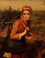 The Fern Gatherer - Charles Sillem Lidderdale