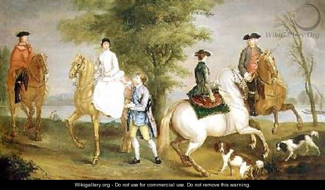 Family Hunting Party 1755 - Judith Lewis