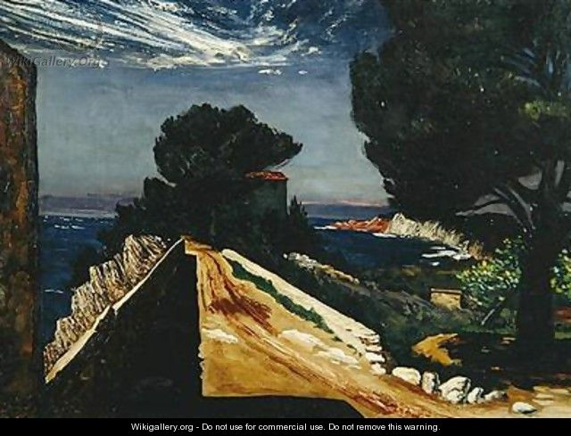 Cliff Path - Karl Leyhausen