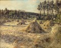 Haystacks in Sunset 1906 - Leon Augustin Lhermitte
