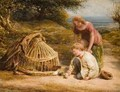 Feeding the Chicks 1862 - John Linnell