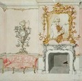 Proposal for a drawing room interior 1755-60 - John Linnell