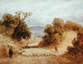 A Dusty Road 1868 - John Linnell