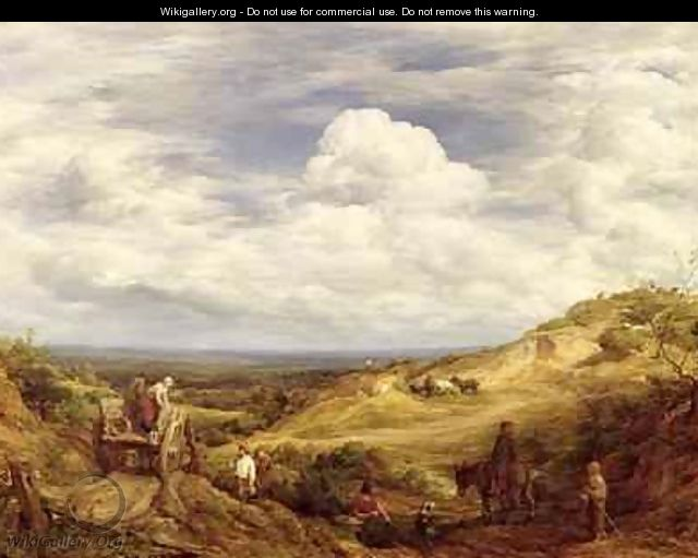 Sand Pits Hampstead Heath 1849 - John Linnell