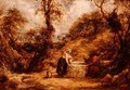 Christ and the Woman of Samaria at Jacobs Well - John Linnell