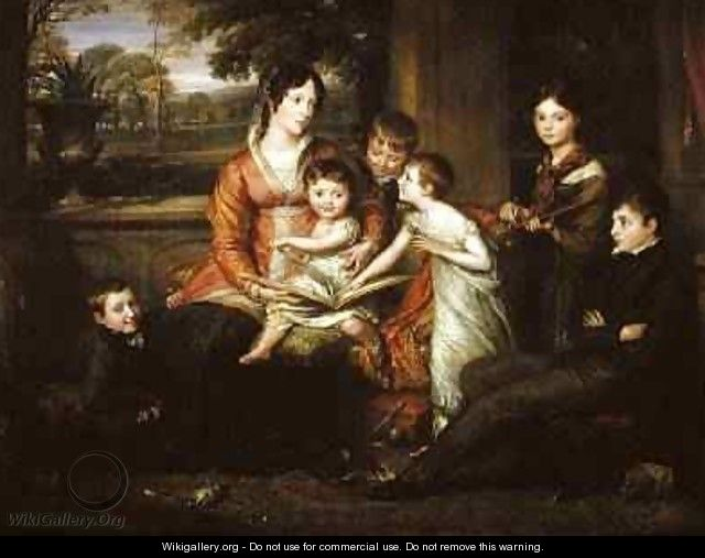 Lady Torrens and Her Family 1820 - John Linnell