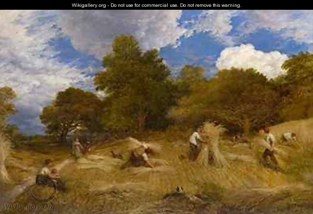 Wheat 1860 - John Linnell